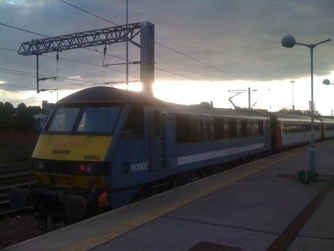 Great Eastern Main Line 1P63 Norwich to Ipswich