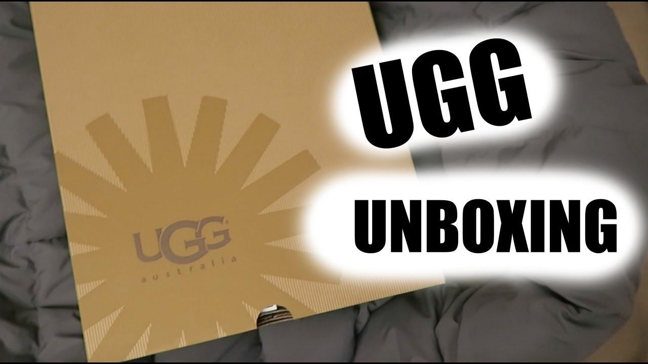 ugg australia lattice cardy unboxing from zappos