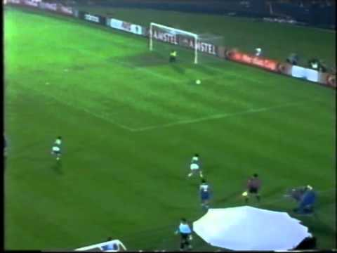 Africa vs Europe 1997 Ft Oliseh Sunday and Abedi Pele pt 2  avi2