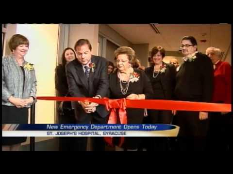 St. Joseph's Hospital opens new emergency department