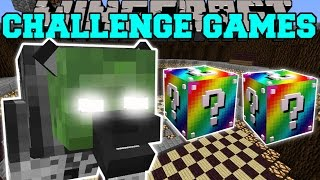 Minecraft: WEREGHAVIL CHALLENGE GAMES - Lucky Block Mod - Modded Mini-Game