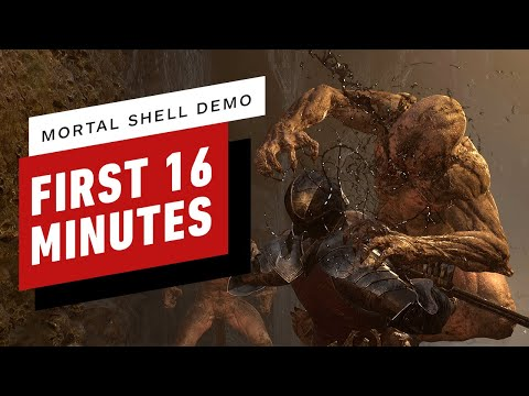 The First 16 Minutes of the Mortal Shell Demo