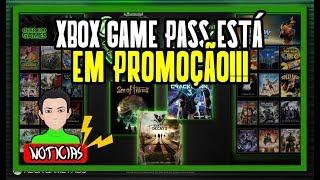 3 MESES DE XBOX GAME PASS PELO PREÇO DE 1 MÊS!!!