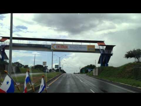 New Panama airport runway under Rio Hato road