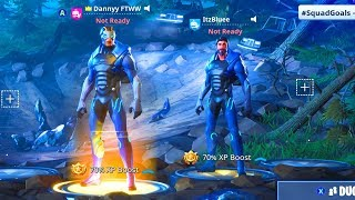 FORTNITE GLITCH HOW TO HAVE ANY CHARACTERS HEAD ON NEW CARBIDE SUPERHERO BODY