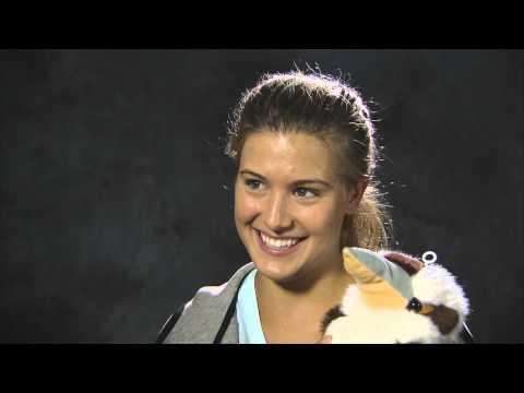 Eugenie Bouchard Kookaburra Interview