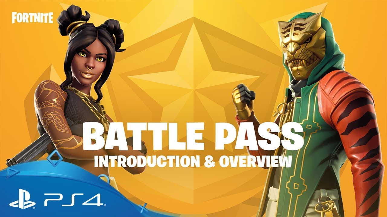 Fortnite Season 8 Battle Pass Overview Trailer Ps4 Youtube