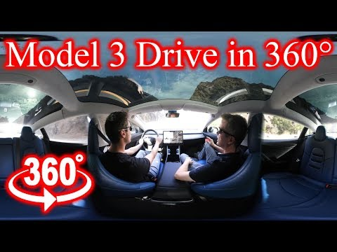 *WORLDS FIRST* Tesla Model 3 in 360°!