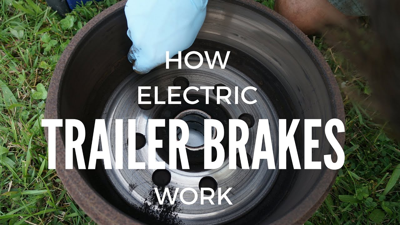 electric trailer brakes breakaway wiring diagram pioneer avic n2 2 how work youtube