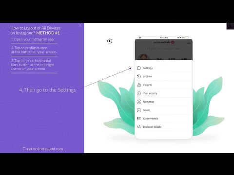 How to log out of all devices on Instagram
