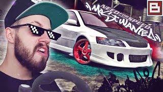 Need for Speed Most Wanted В 2К19 - ЗАТЮНИЛ МИТСУБИСИ! ПРОХОЖДЕНИЕ С РУЛЕМ! #5