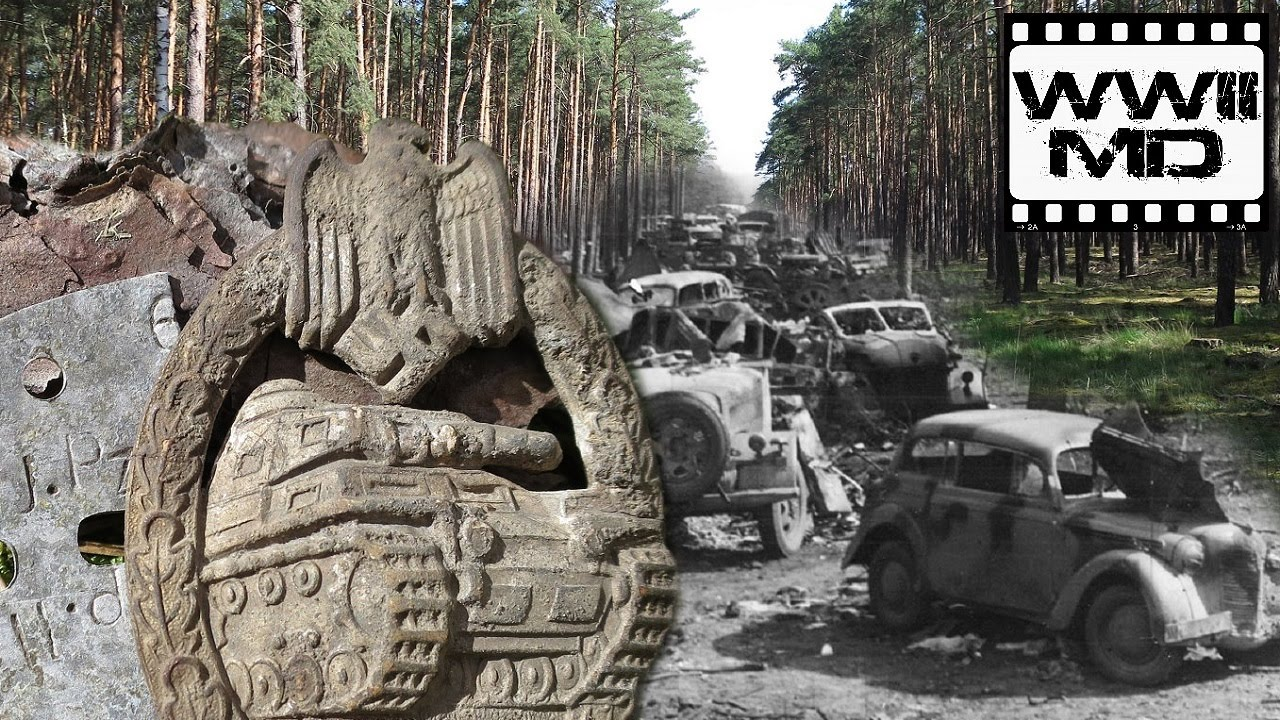 WWII Metal Detecting - German Panzer and SS - Discover History on the  Eastern Front