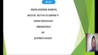 MMM Ideology By Jeff