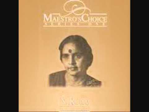 N.Rajam - violin -  Raga Bageshree Kanhra