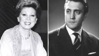 """Mirella Freni & Piero Cappuccilli-""""Cielo! mio padre!..."""""""