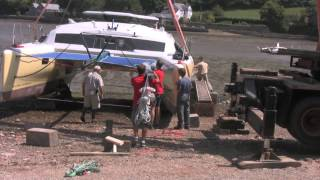 How To Launch A Performance Catamaran