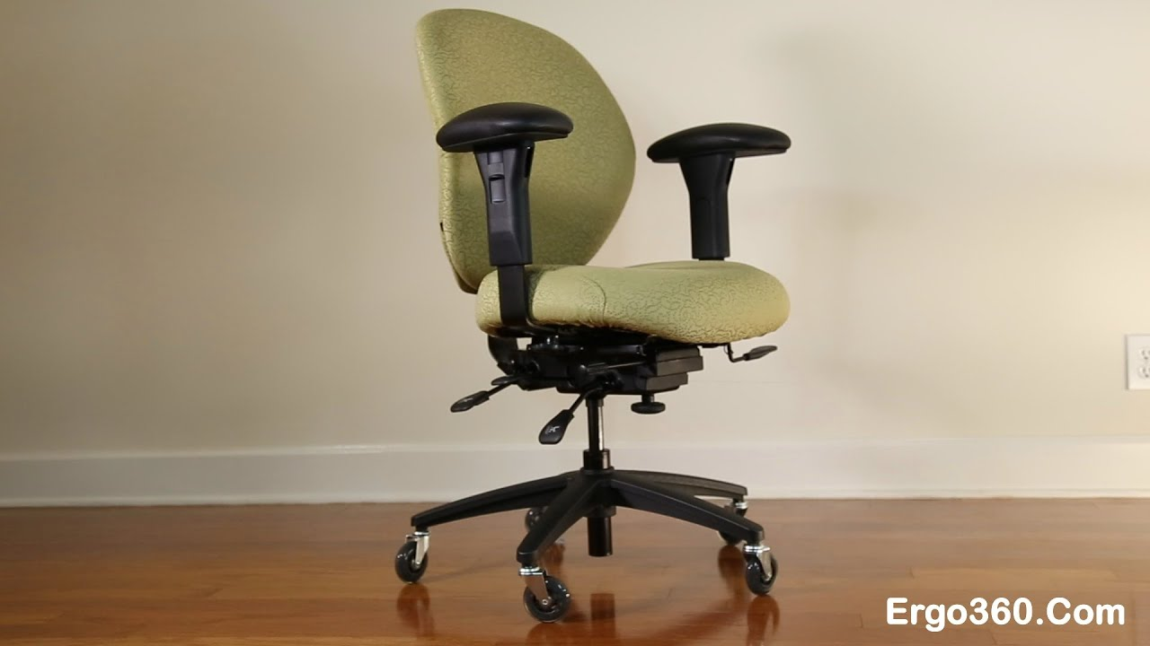 office furniture on wheels. ergo360 best office chair with custom upholstery, rollerblade casters, and kahuna armrest pads - youtube furniture on wheels