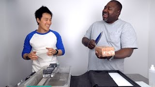 First Friend To Brick A $200 Miyabi Knife (sharpening tutorial)