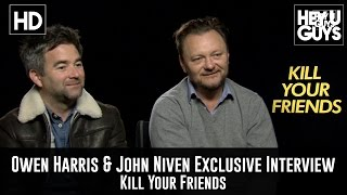 Director Owen Harris & Author John Niven Exclusive Interview - Kill Your Friends