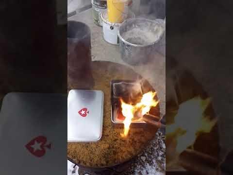 Как горят пластиковые карты от PokerStars?!