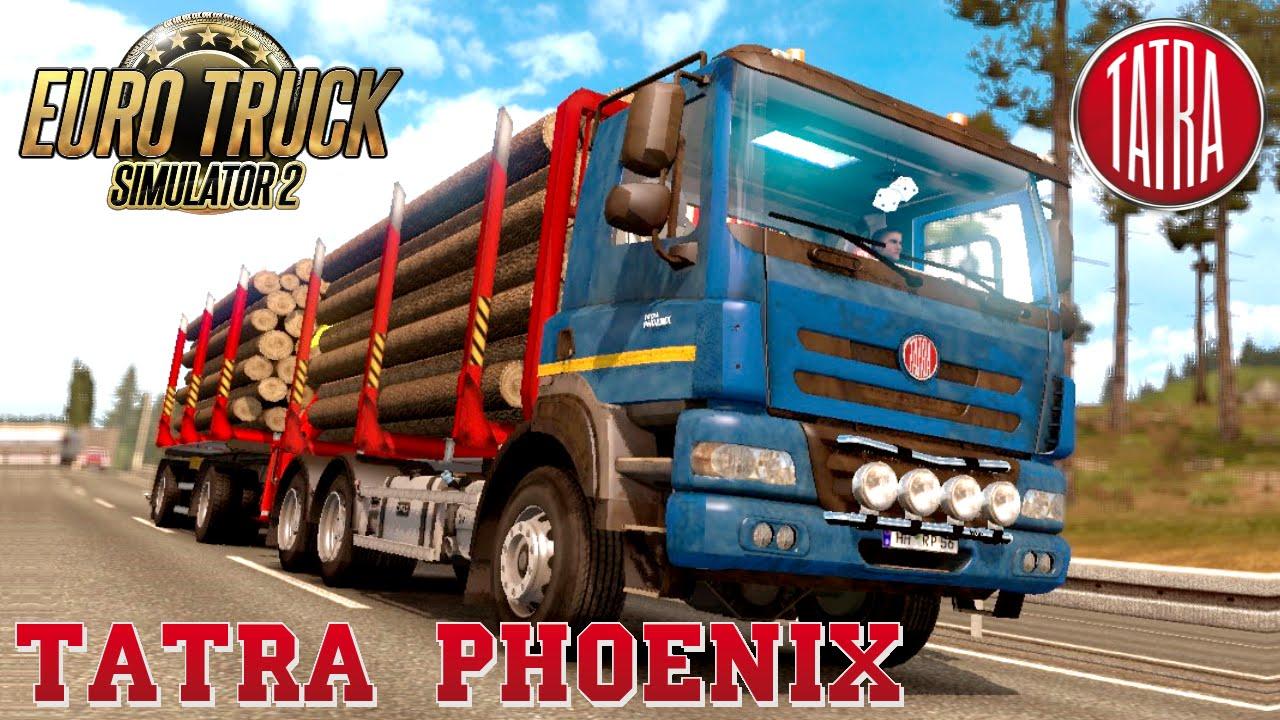 Euro Truck Simulator 2 mod TATRA PHOENIX TANDEM