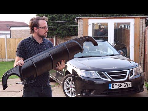Saab 9-3 Diffuser Install – Anticlimactic!!!