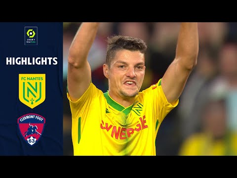 Nantes Clermont Goals And Highlights