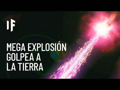 ¿Qué pasaría si una explosión de rayos gamma impactara a la Tierra?