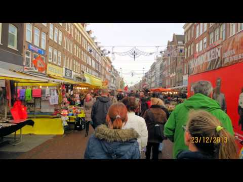 amsterdam rond de kerst 2013