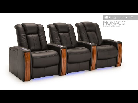 Seatcraft Monaco Home Theater Seats