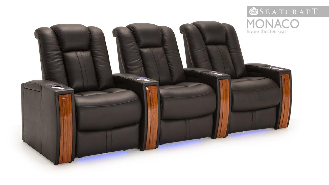 Seatcraft Monaco Home Theater Seats