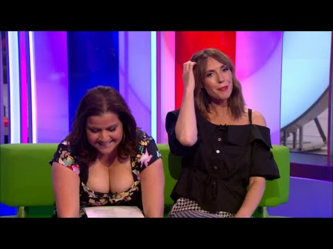 Nina Wadia massive cleavage / downblouse