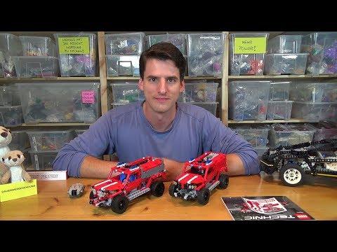 Rc Mod Für Den Lego Technic 42075 First Responder Youtube