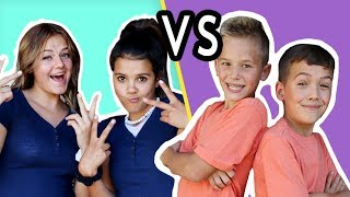 WHICH BEST FRIEND makes the BEST TWIN?!! Challenge!
