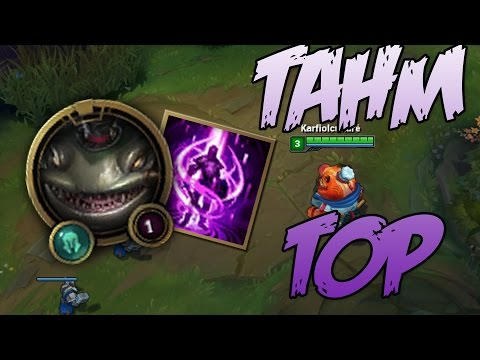 League of Legends - Tahm Kench Top (Magyar kommentárral)