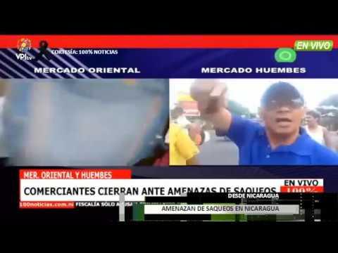 EN VIVO - Amenazan De Saqueos En Nicaragua