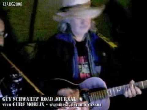 Guy Schwartz' Road Journal - A Giant TeePee w/ Gurf Morlix