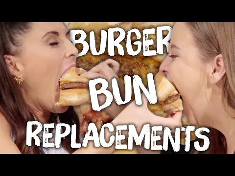 5 Over the Top Burger Bun Replacements (Cheat Day)