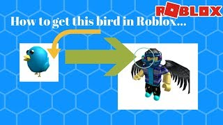 HOW TO GET THE TWITTER BIRD IN ROBLOX...
