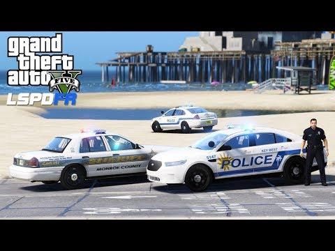 GTA 5 LSPDFR #549 | Key West Police Department Live Stream