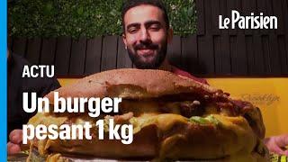En Egypte, engloutir ce burger géant fait gagner 60 euros