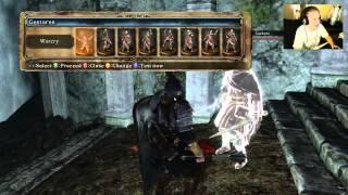 DARK SOULS: Fighting Skeleton Lords