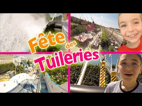 VLOG - On s'éclate à la Fête Foraine des Tuileries - Manèges 100% Fun & Attractions - 2/2