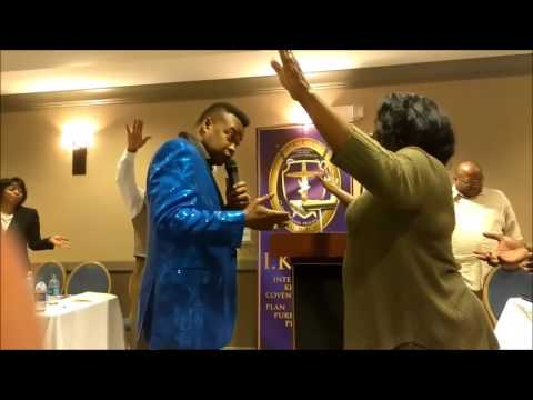 Dr. Michael Hunter Ministering Prophetically