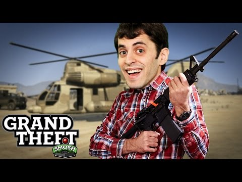 EPIC MILITARY RAID (Grand Theft Smosh)