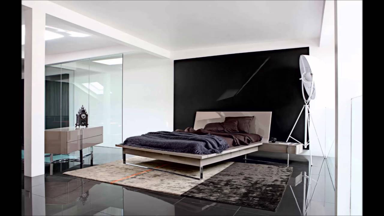 the unique black and white minimalist apartment interior designs