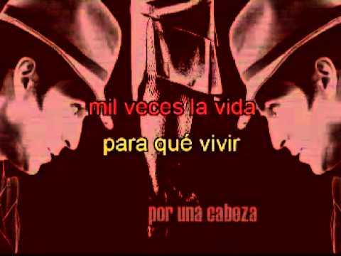 Tango Karaoke 'Por una cabeza'