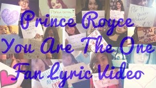 Prince Royce - You Are The One (Fan Lyric Video)