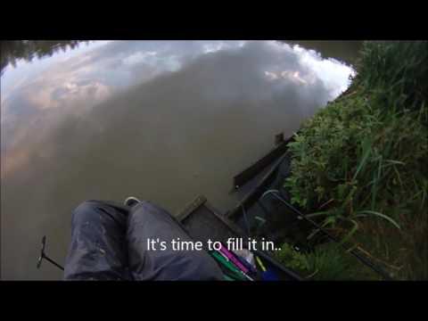 Woodlands Lakes, Thirsk.  Margin Fishing.