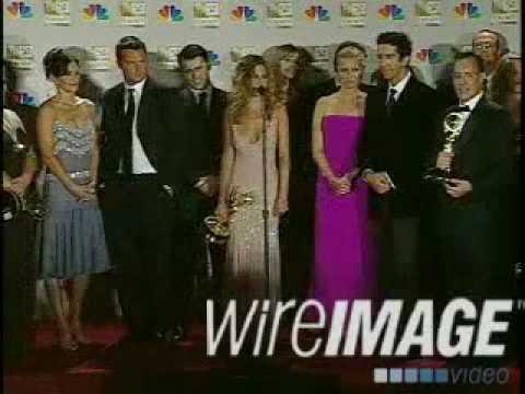 Cast Of Friends 2002 Emmy Awards Press Room 2